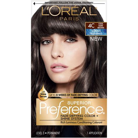 coloring l oreal hair color unique l oreal garnier color sensation 30 2014 24 best of l l or 233 al superior preference fade defying shine permanent hair color 3c