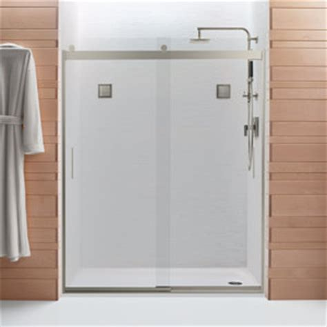 Glass Treatment For Shower Doors Kohler K 706011 L Nx Levity Bypass Shower Door With Handle And 3 8 Inch Clear Glass In