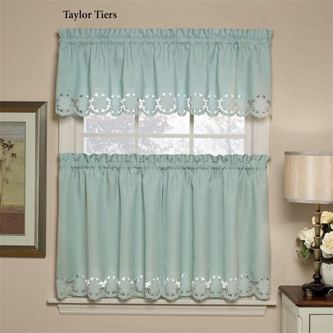 tier window curtains taylor tier window treatments