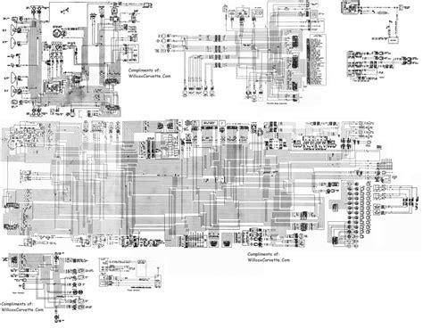 corvette wiring diagram tracer schematic willcox