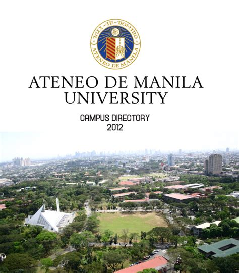 Mba Ateneo Entrance by Ateneo Cus Directory Ateneo De Manila