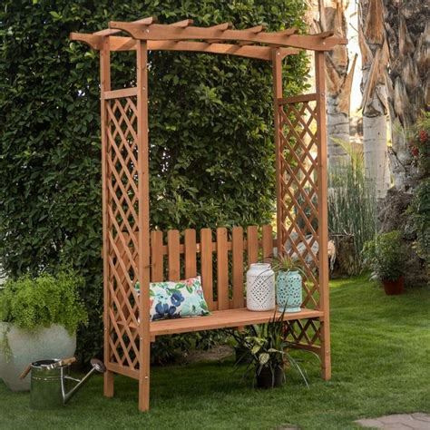 9 Ft Garden Trellis 1000 Ideas About Wood Arbor On Arbors Garden