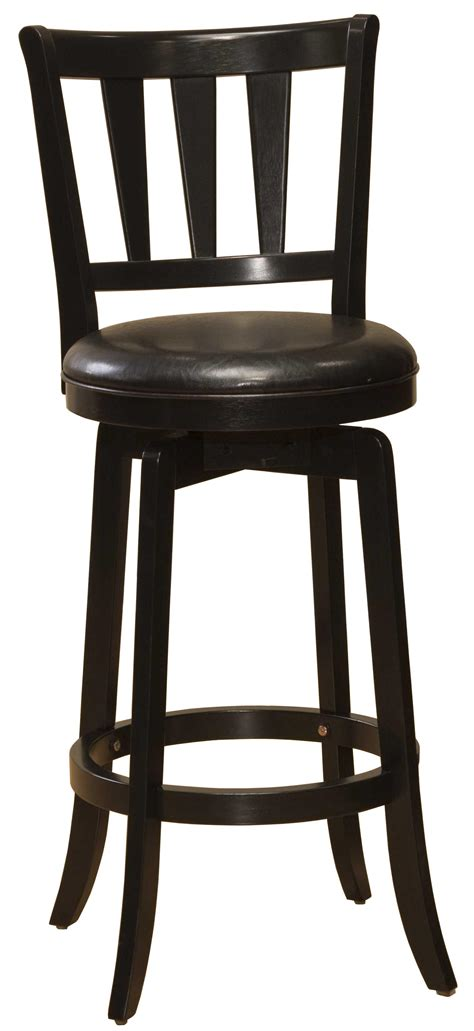 wood stools 30 quot bar height presque isle swivel bar stool
