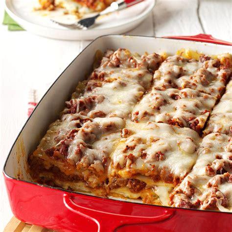traditional lasagna recipe taste of home