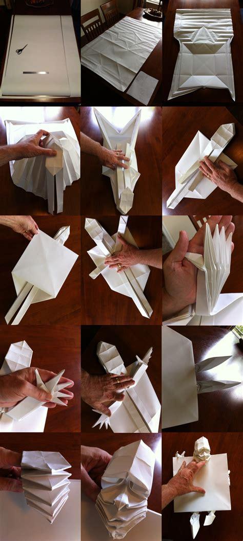 paper will travel variation of origami boulder