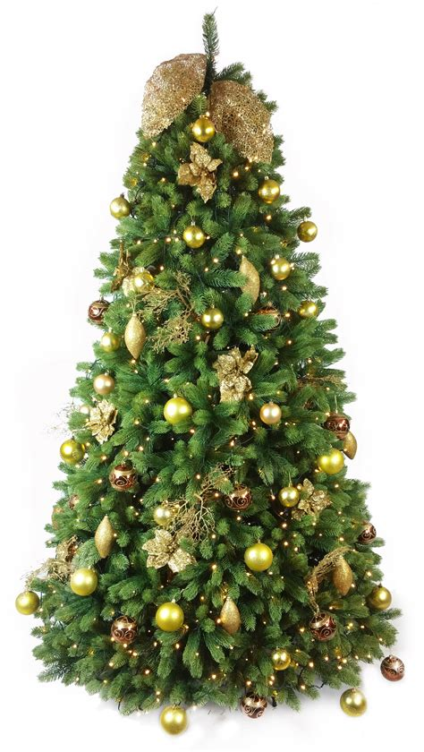 Nice 4 Foot Slim Christmas Tree #3: Decoratedarborultima.jpg