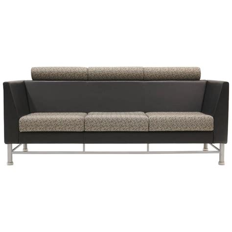 3 sided sectional sofa ettore sottsass quot east side quot three seat sofa for knoll at