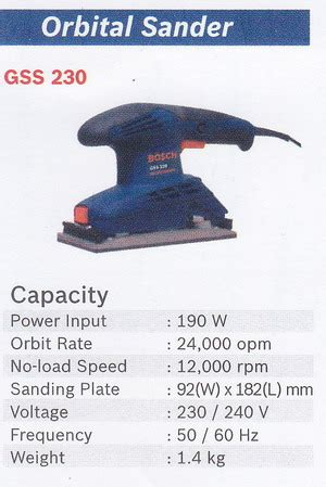 Mesin Las Bosch Gss 230 bosch orbital sander gss 230 products of mesin cutting