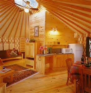 Yurt Photos Interior Little Yurt In The Woods