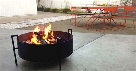 backyard portable fire pit backyard fire rings portable fire rings