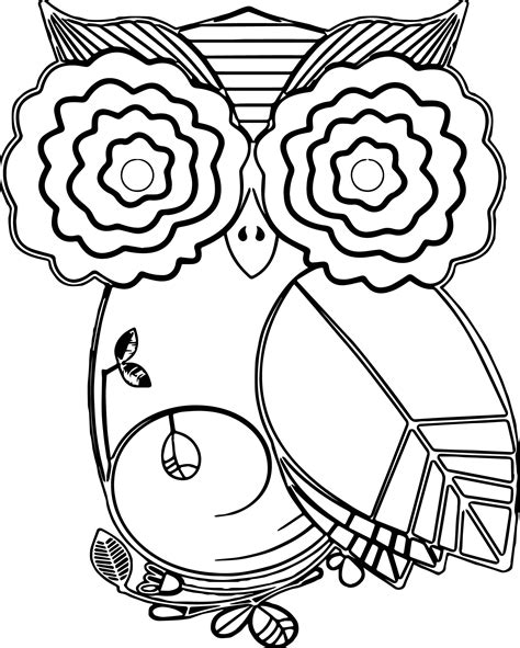 fall coloring autumn owl leaf coloring page wecoloringpage