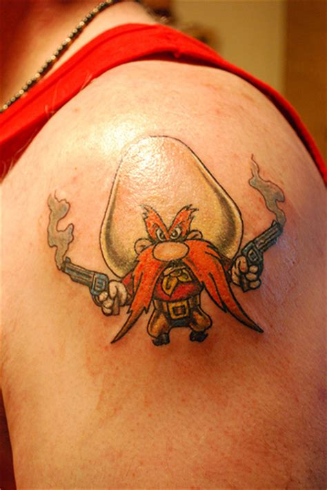 yosemite sam tattoo s new yosemite sam flickr photo