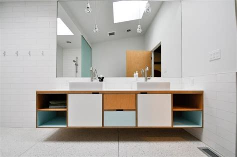 dj vanity modern bathroom seattle by kerf design