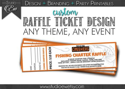 printing raffle tickets 25 best ideas about custom raffle tickets on pinterest