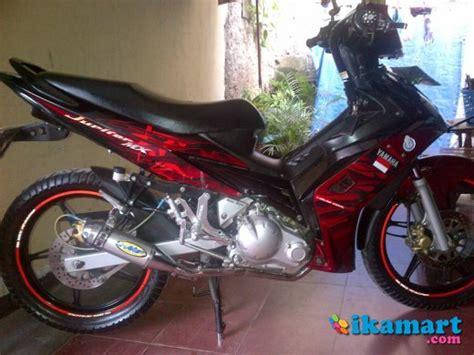 bengkel modifikasi motor jupiter mx jakarta jual jupiter mx 2008 semi modifikasi motor