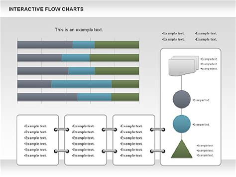 Interactive Flow Chart Data Driven For Powerpoint Presentations Download Now 01057 Interactive Flow Chart Template