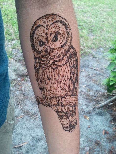owl henna tattoo 35 beautiful henna designs entertainmentmesh