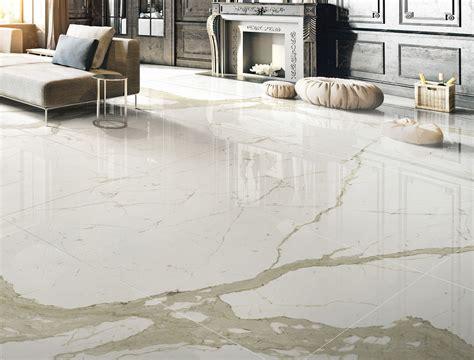 pavimento gres porcellanato effetto marmo bianco calacatta marmi cento2cento pavimenti e