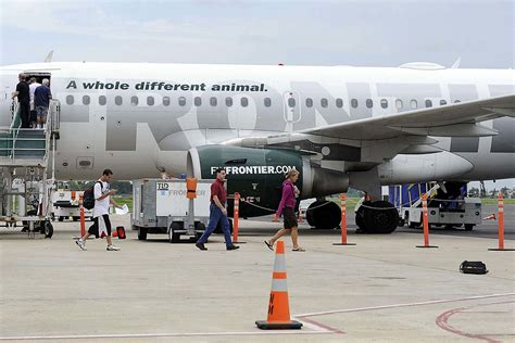 Frontier Phone Number Lookup Frontier Airlines Will Fly Bigger Planes Out Of Trenton
