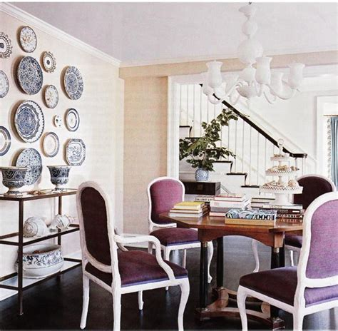 dining room wall decor purple dining chairs contemporary dining room