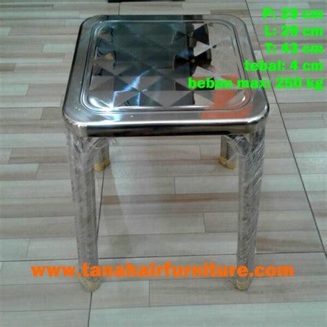 Kursi Baso Stainless kursi persegi stainless steel taf