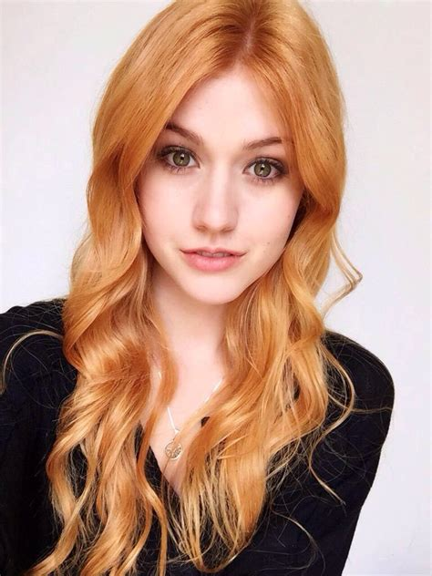 hair color 2015 red blonde katherine mcnamara returns to her natural red hair color