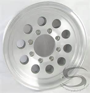 8 Lug Aluminum Truck Wheels 16x6 Aluminum Mod Trailer Wheel 8 Lug 3750 Lb Max Load