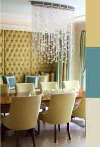 Crystal Dining Room by Juxtaposed Contemporary Crystal Chandelier In A