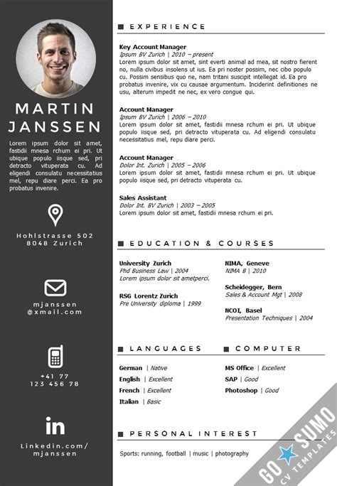 microsoft word resume templates learnhowtoloseweight net