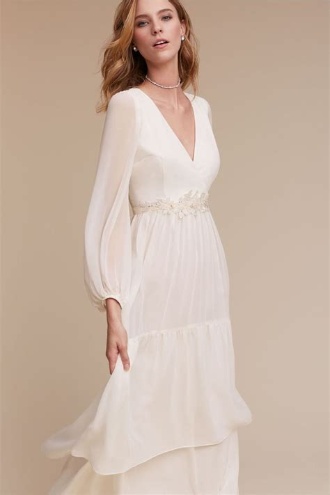 Wedding Attire Budget by Flowy Chiffon Dress Quince Dress From Bhldn The