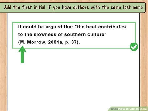 Citing An Essay In A Book by 4 Ways To Cite An Essay Wikihow