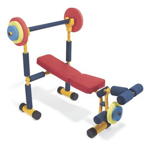 kid weight bench kids weight bench exercise equipment from one step ahead