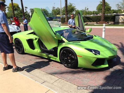 Orlando Lamborghini Lamborghini Aventador Spotted In Orlando Florida On 03 28