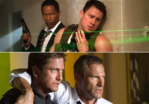 olympus has fallen vs white house down white house down vs olympus has fallen a comparative study on the couch