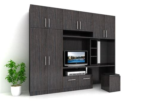 desain lemari tv lemari pakaian minimalis modern gambar desain rumah 2014