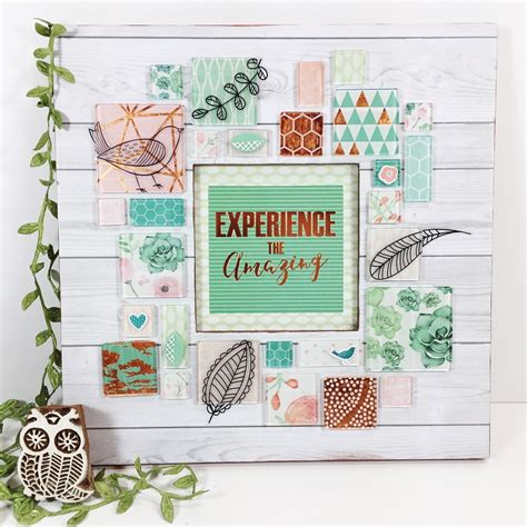 home decor blogs usa how to create home decor with scrapbook supplies tombow