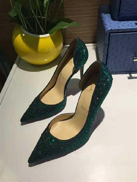 best high heels for flat christian louboutin golden rhinestone high heels mid