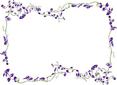 Bordir Purple image gallery lavender border clip