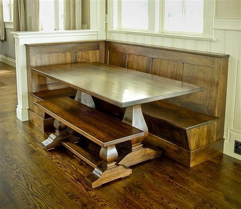breakfast nook plans breakfast nook bench plans diy woodworking projects
