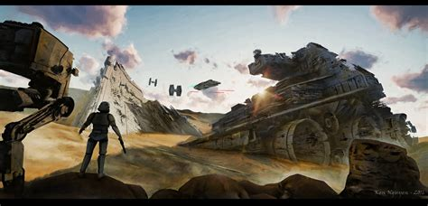 what to get a star wars fan ken nguyen star wars fan art