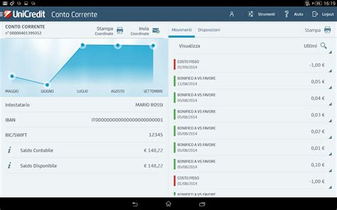 unicredit home banking mobile banking per tablet android apps on play