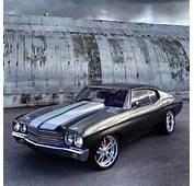70 Chevelle Grey Silver Chrome Wheels Kindig It Design