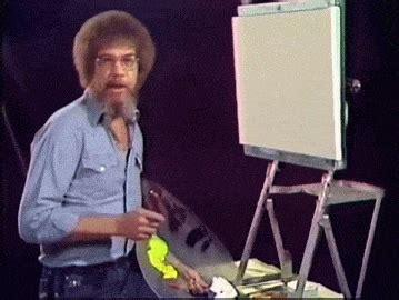 bob ross guest painter fan of tv painting host bob ross the