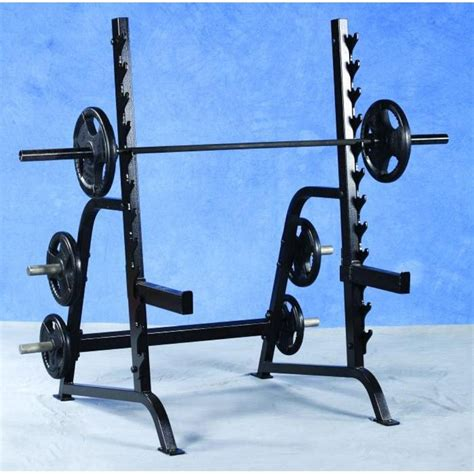 Pro Squat Rack by Pro Maxima Pl127 Squat Rack W Weight Storage Power Systems