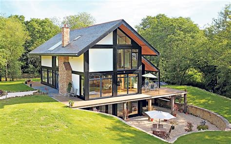 house plans and design modern eco house designs uk