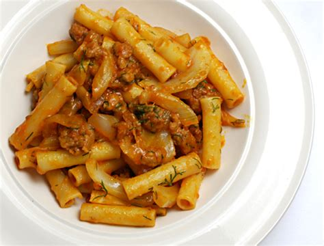 Lidia S Kitchen S Favorites Recipes by Lidia S Favorite Recipes Ziti With Sausage And Fennel