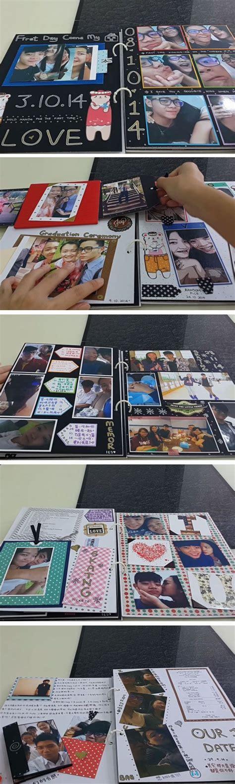 Handmade Scrapbook For Boyfriend - best 25 anniversary scrapbook ideas on one