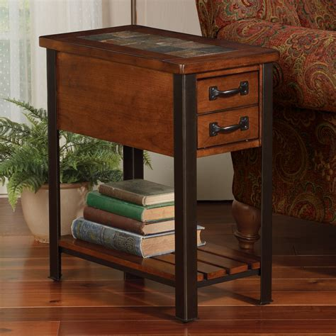 end table slate end tables homesfeed
