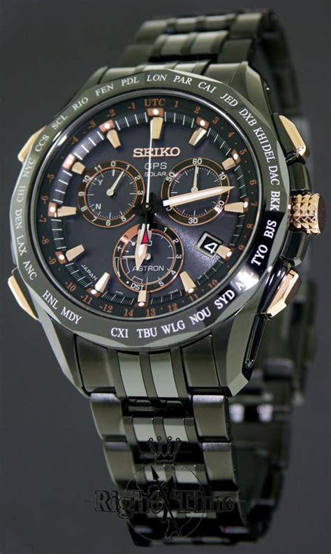 Seiko Sas032j Astron Gps Solar Black Gold gps solar black titan sse019 seiko astron wrist