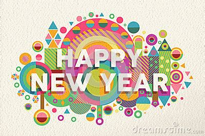 new year 2015 poster design happy new year 2015 quote illustration poster stock vector